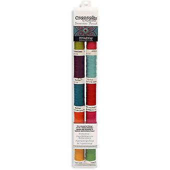 Crossroads Sulky Cotton Petites 12 Weight 10/Pkg-Broadway Collection