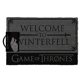 Game of Thrones Stark Welcome to Winterfell Doormat