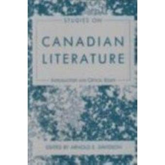 Studies on Canadian L by Arnold E Davidson - 9780873523806 Book