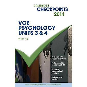 Cambridge Checkpoints VCE Psychology Units 3 and 4 2014 and Quiz Me M