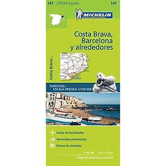 Barcelona y Alrededores Costa Brava Zoom Map 147 - 9782067218192 Book