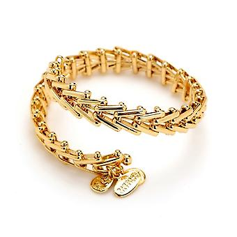 Alex en Ani Gypsy 66 wrap goud Bangle VW235YG