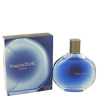 Due by Laura Biagiotti Eau De Toilette Spray 3 oz / 90 ml (Men)