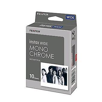 Fujifilm 16564101 instax wide mono chrome snapshot film 108 x 86 mm 10 pcs.