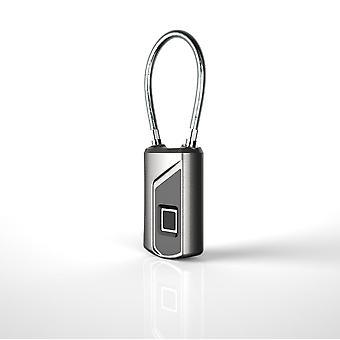 L1 fingerprint lucchetto intelligente sicurezza porta bloccare ip66 sblocco senza chiave impermeabile - argento