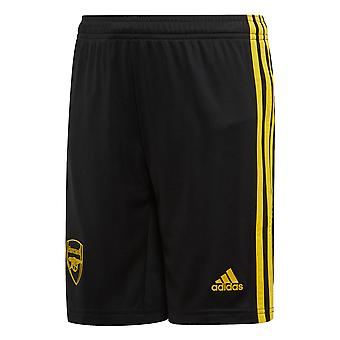 adidas Arsenal 2019/20 Kids Third Football Short Black/Yellow