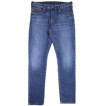 Emporio Armani Armani Jeans J06 Slim Jeans Denim Blue 0941