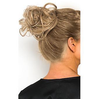 IKRUSH Womens Willow Scrunchie Haarverlängerungen - Lockly Honey Blonde