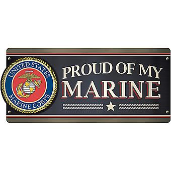 Car Magnet-U.S. Marine- Proud Of My Marine MCAR-1058E