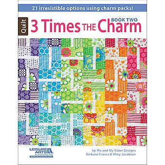 Leisure Arts Three Times The Charm Book Two La 5952