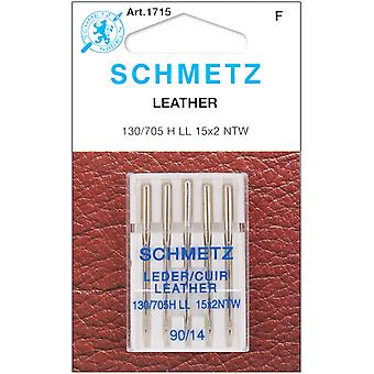 Leather Machine Needles Size 14 90 5 Pkg 1715
