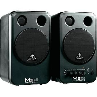Active monitor 10 cm (4 ) Behringer MS16 8 W 1 pair
