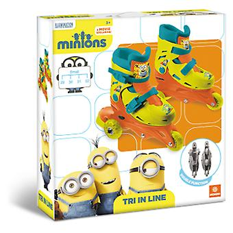 Mondo Tri Patin 3 In Line Minion (Outdoor , On Wheels , Skates)