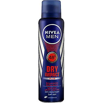 Nivea Deo Spray 200 Ml For Men Dry Impact (Mannen , Cosmetica , Body , Deodorant)