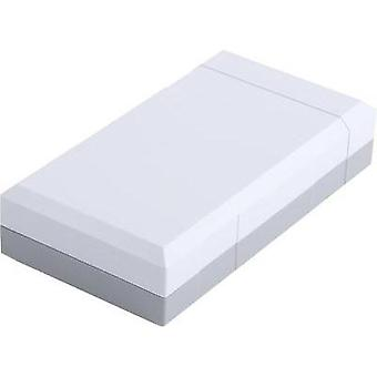 Desktop case 125 x 67 x 30 Polystyrene (EPS) Light grey (RAL 7035)