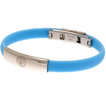 Manchester City Colour Silicone Bracelet