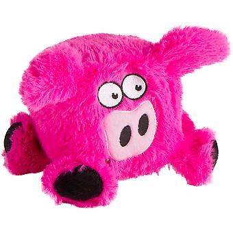 Trusty Pup Squares Plush Toy-Pig 774054