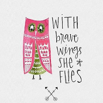 Brave Wings Poster Print by Katie Doucette