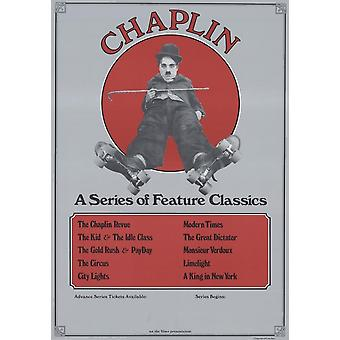 Charlie Chaplin A Series of Feature Classics Movie Poster Print (27 x 40)