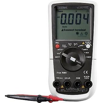 Handheld multimeter digital VOLTCRAFT VC275TRMS Calibrated to: Manufacturer standards Circuit breaker CAT III 600 V Disp