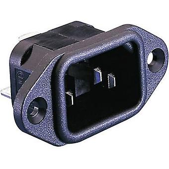 IEC connector C14 Series (mains connectors) PX Plug, vertical mount