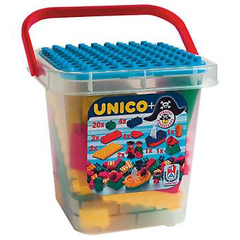 Unico Plus Unico Cube Pirates 37 Pieces (Toys , Constructions , Characters And Animals)