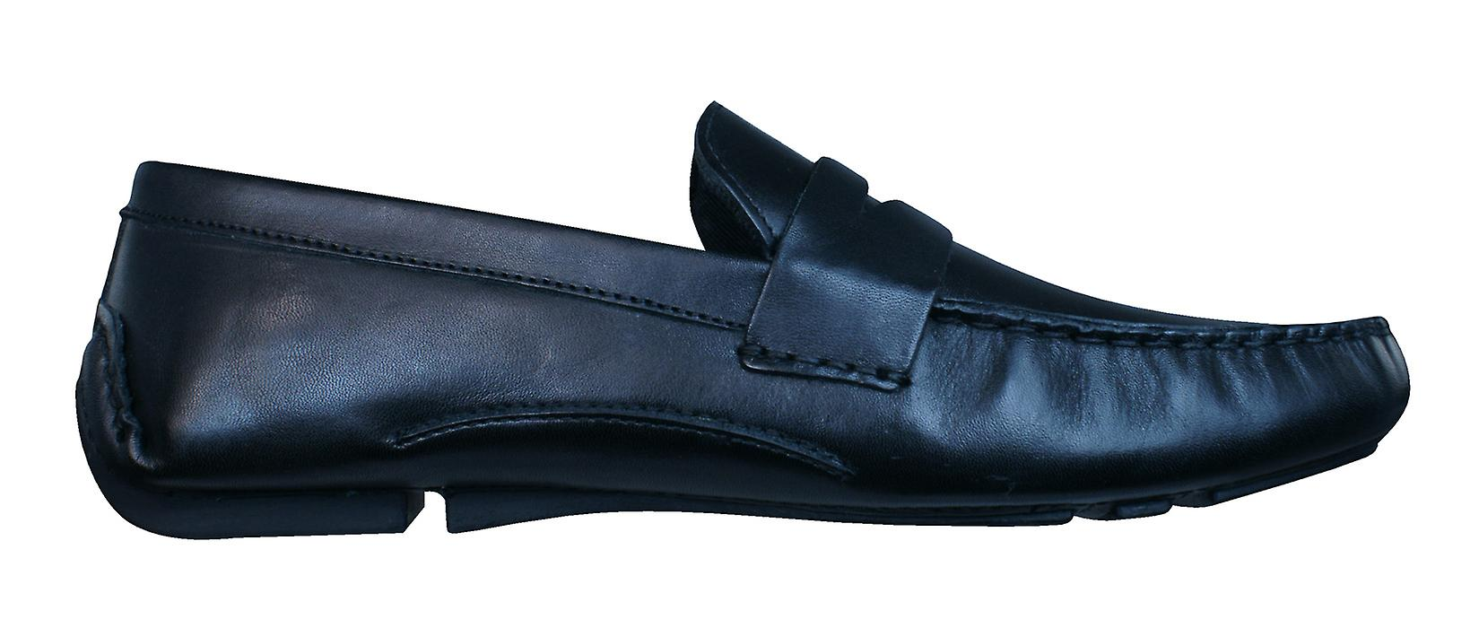 50f93b949fb Red Tape Cranfield Mens Leather Slip On Loafers   Shoes - Black