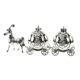 Silver Plated Cinderella Carriage