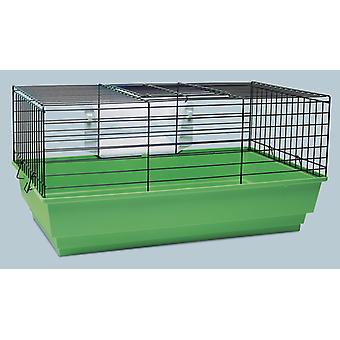 Tito 1 conejillo de Indias conejo jaula surtidos colores 62x36x30cm (paquete de 3)