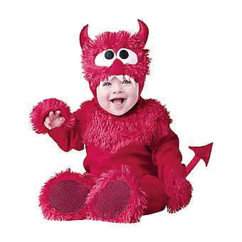 Lil' Devil Halloween Deluxe Toddler Baby Boys Girls Unisex Infant Costume