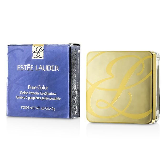 Estee Lauder Pure Color Gelee Powder Eye Shadow - # 06 Cyber Teal (Metallic) 0.9g/0.03oz
