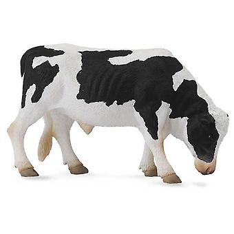 Collecta Friesian bull (white and black) -L-