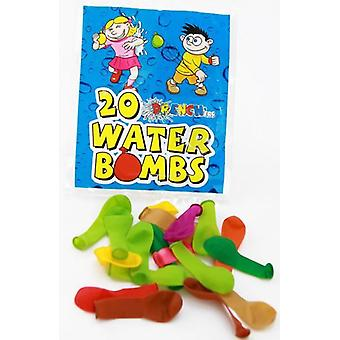 Water Bombs pack of 20 - Pack of 8