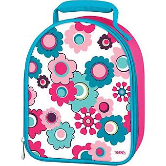 Thermos Floral Upright Food Packing Travel Insulated Kids Lunch Pack Kit