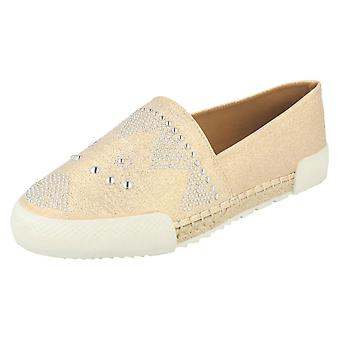 Ladies Savannah Rope Edge Espadrilles F80246
