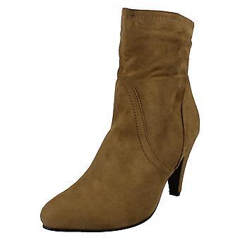 Kære plet på høj hæl ankelstøvler