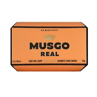 Musgo Real Orange Amber Men's Body Soap on a Rope (190g)