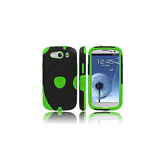 TRIDENT Sam S3 Shell Green Black Aegis Shock safe protection