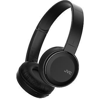 JVC Deep Bass Bluetooth Wireless On Ear Headphone  - Black (HAS30BTBE)