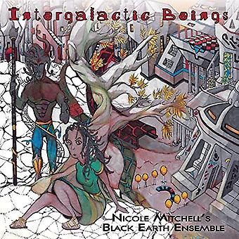 Nicole Mitchell's Black Earth Ensemble - intergalaktisk væsener [Vinyl] USA import