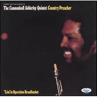 Cannonball Adderley - Country Preacher [CD] USA import