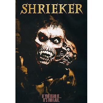 Importación de USA de Shrieker [DVD]