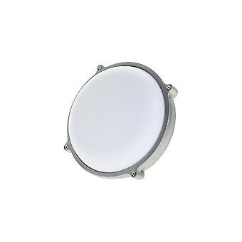 Timeguard Round Graphite Grey 25W LED Outdoor Bulkhead