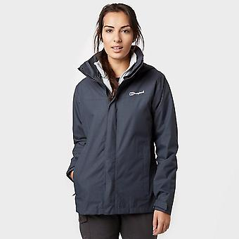 Grey Berghaus Women's Howtown 3 in 1 Waterproof Jacket
