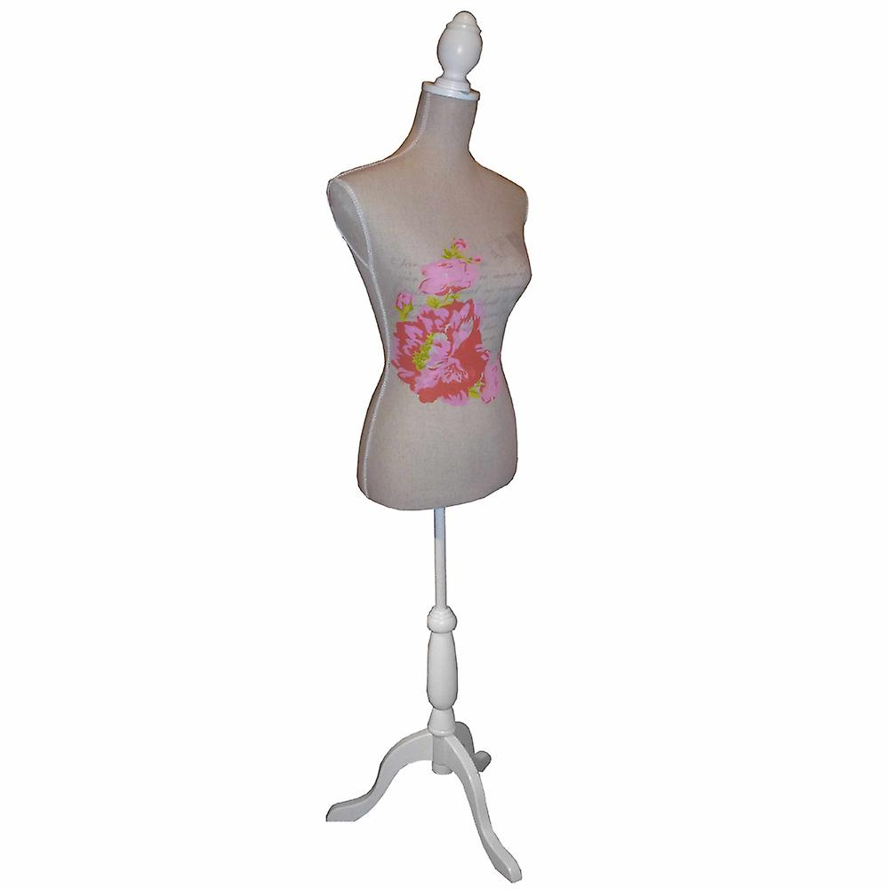Rose - manichino / decorativi sarte Dummy - marrone / rosa