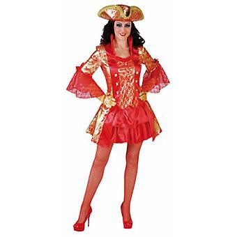 Kvinder kostumer kvinder sexet Marquise rød