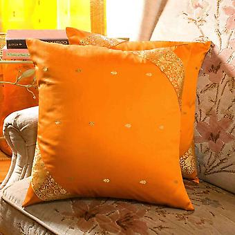 Moutarde - handcrafted housse de coussin, taie d'oreiller jet Euro Sham-6 tailles