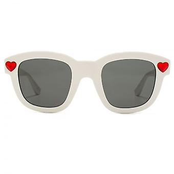 Saint Laurent SL 100 Lolita Sunglasses In White