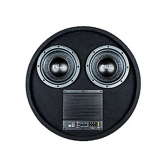 PG audio active spare wheel subwoofer 2 x 8 inch, 1 piece new
