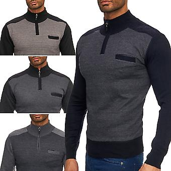 Mænds pullover sweater Cardigan zip langærmet